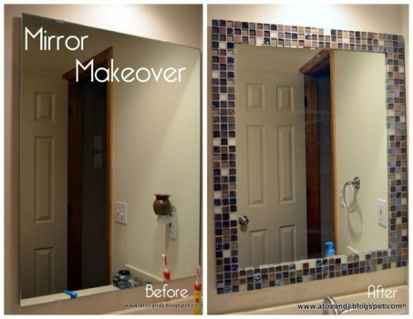 glass mirror makeover in houston